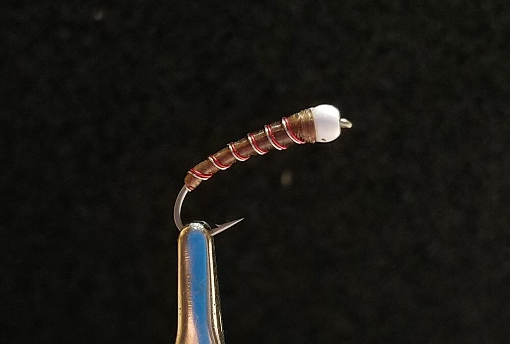 Big Sky Anglers Featured Fly – Chan's Maroon Chironomid Bomber