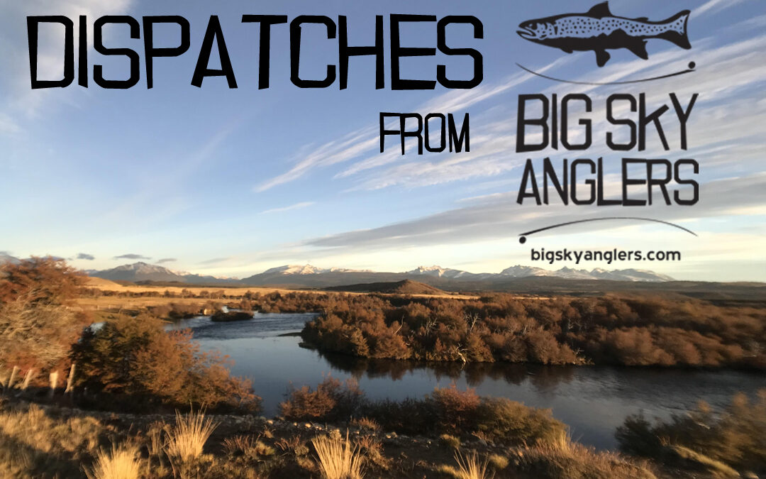 Dispatches Volume 3 – Fly Fishing in Argentina for Trophy Brook Trout with Steve Hoovler