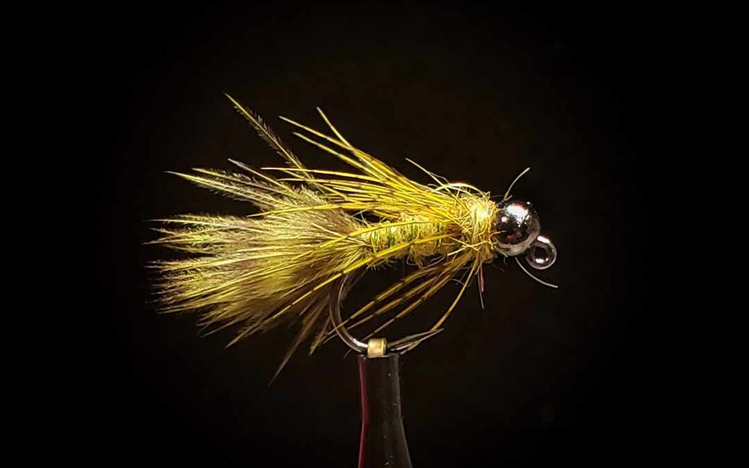 Big Sky Anglers Featured Fly – Olive Jig Bugger