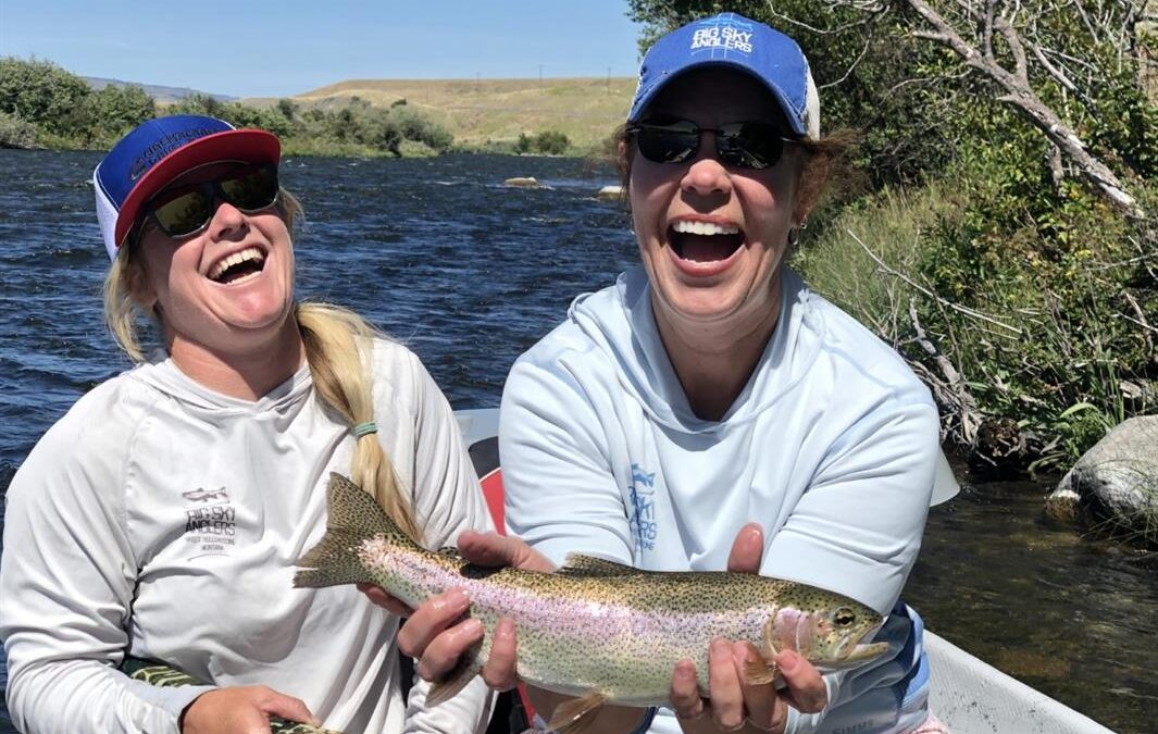 Big Sky Anglers Weekly Fishing Report – August 22, 2019