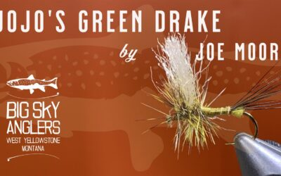 BSA's Top Producing Green Drake Fly Pattern – JoJo's Green Drake
