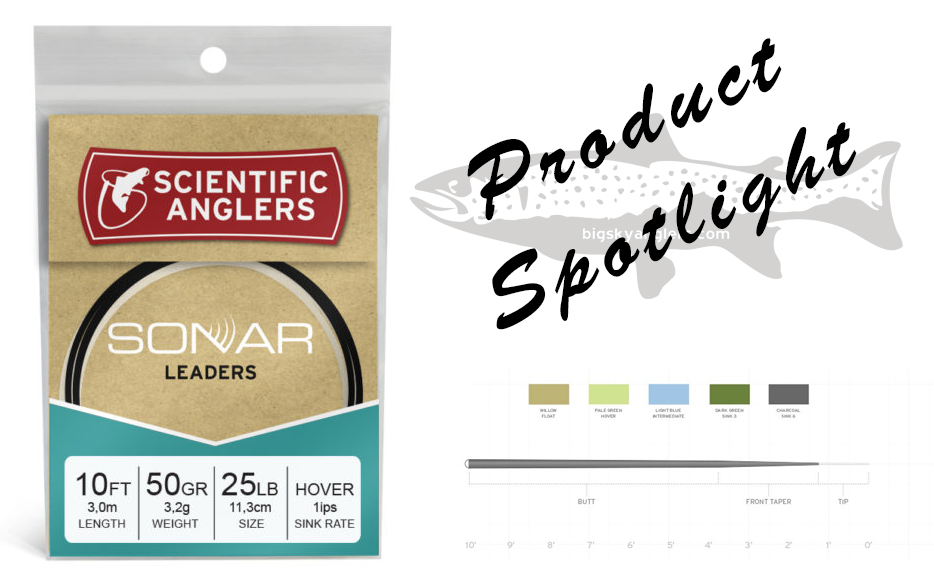 Product Spotlight – Scientific Anglers Sonar Leaders